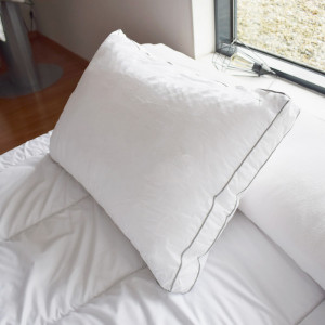 Almohada rectangulaire Sensation Duvet Blanco