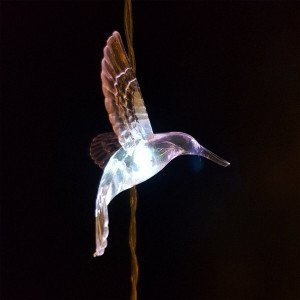 Lichterkette Bird Warmweiß 8 LEDs