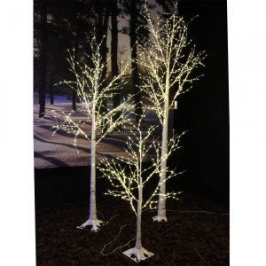 Lichterbaum Birke Wills Micro LED H100 cm Warmweiß