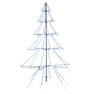 Sapin lumineux Blanc froid 3000 LED
