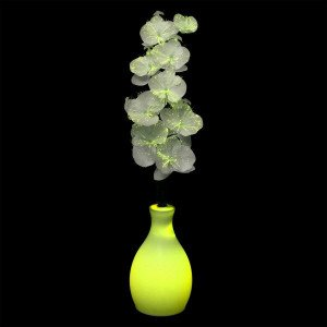 Vaso orchidea luminoso multicolore