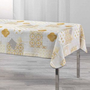 Nappe rectangulaire (L240 cm) Festine Or