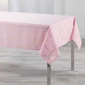 Nappe rectangulaire (L240 cm) Domea Rose