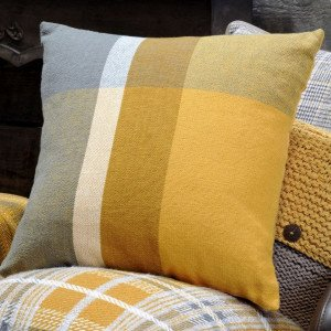 Coussin (45 cm) Arnold Jaune moutarde