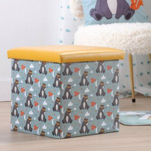 Pouf pliant Willy Multicolore