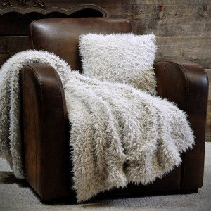 Plaid ecopelliccia (160 cm) Mouton Ecru