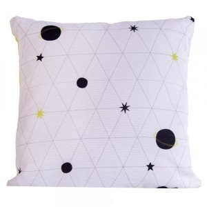 Coussin (40 cm) Science Kid Blanc