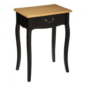 Table de chevet Chrysa Noir