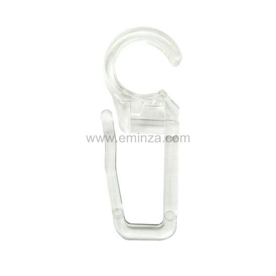 Lot de 10 agrafes (D20) Transparent