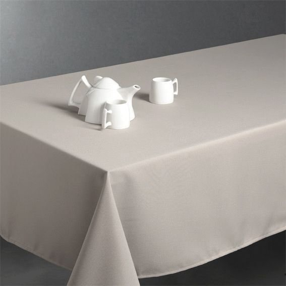 Nappe rectangulaire anti tache l240 cm lina lin linge - Nappe de table rectangulaire ...