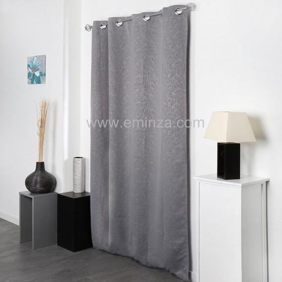 rideau et voilage style contemporain eminza. Black Bedroom Furniture Sets. Home Design Ideas