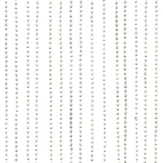Rideau de porte perles rondes argent rideau voilage store eminza - Rideau de porte en perles ...