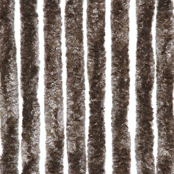 Rideau de porte chenille marron - Rideau de porte chenille ...
