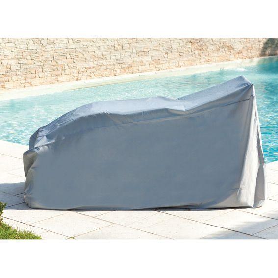 housse de protection pour bain de soleil l 220 cm. Black Bedroom Furniture Sets. Home Design Ideas