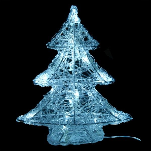 Sapin lumineux Blanc froid 16 LED