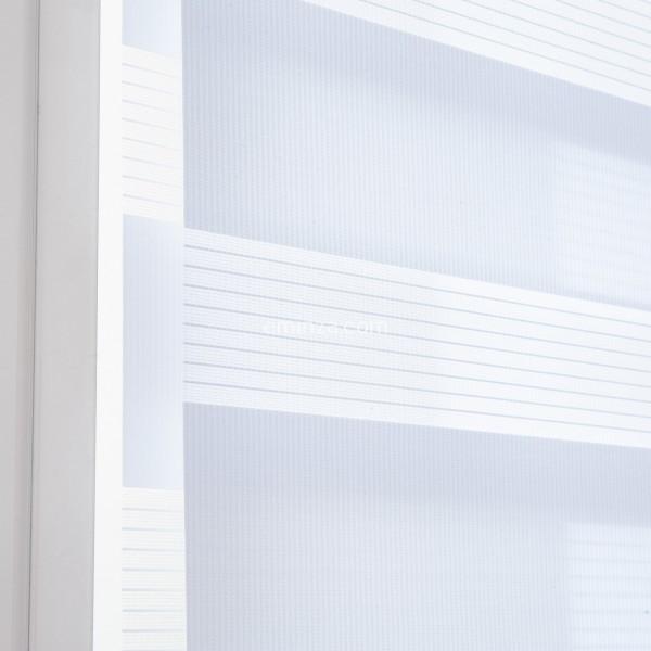 store enrouleur 45 x 90 cm jour nuit blanc rideau. Black Bedroom Furniture Sets. Home Design Ideas