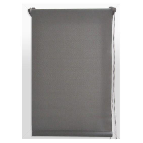 store enrouleur occultant 45 x 180 cm uni gris store enrouleur eminza. Black Bedroom Furniture Sets. Home Design Ideas