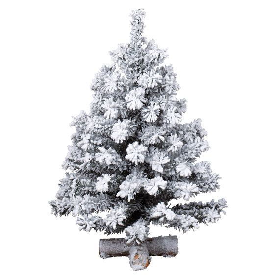 Sapin artificiel de table Toronto H35 cm Vert enneigé