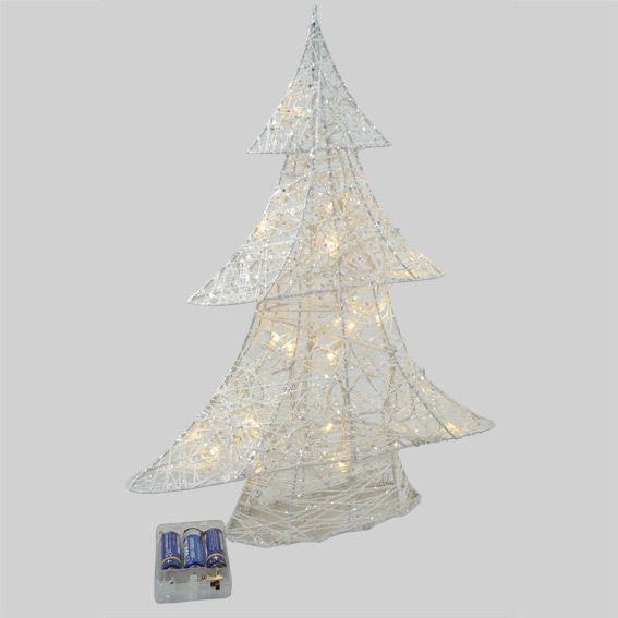 Sapin lumineux LED Aspen Blanc chaud
