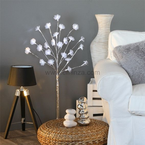 Cerisier lumineux Lina H100 cm Blanc froid