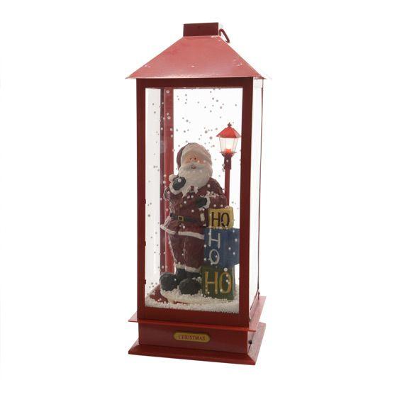 Automate P�re No�l (H 48 cm) Rouge