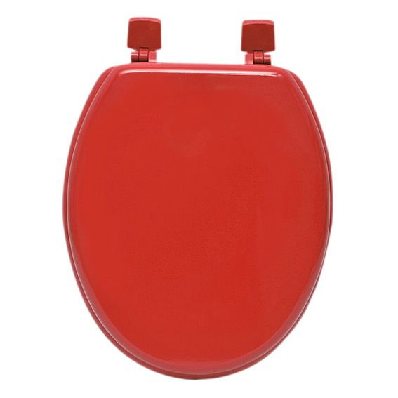 Abattant WC Uni Rouge