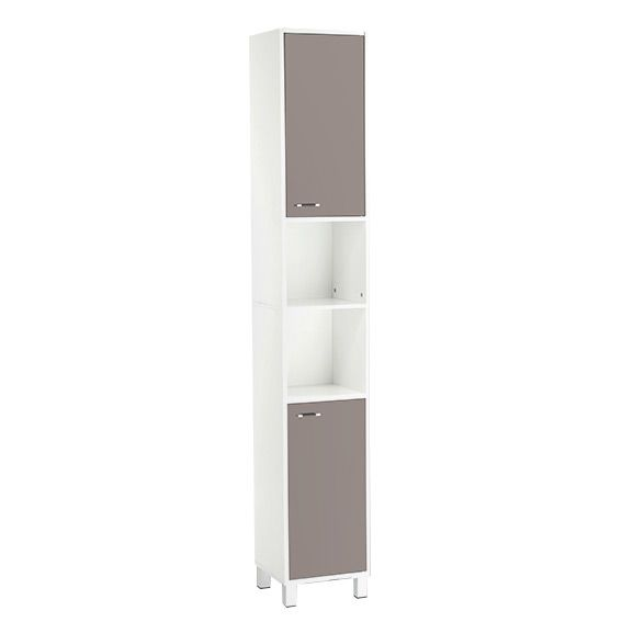 Colonne taupe meuble eminza for Meuble wc montreal