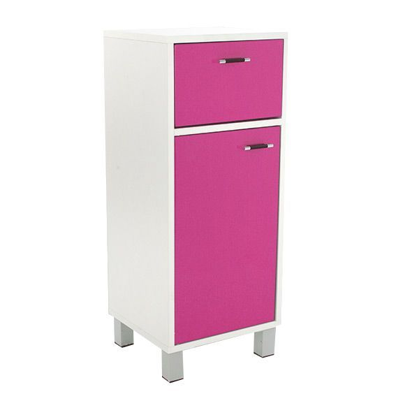 meuble bas de salle de bain dinamo rose meuble de salle. Black Bedroom Furniture Sets. Home Design Ideas