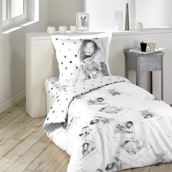 soldes housse de couette et une taie 140 cm lulu and me. Black Bedroom Furniture Sets. Home Design Ideas