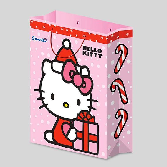 Sac cadeau H23 cm Hello Kitty