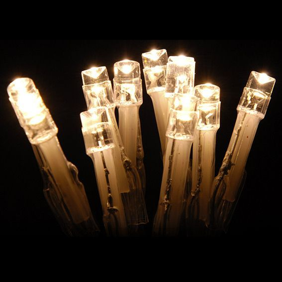 Guirlande lumineuse 20 LED CT 1,90 m Blanc chaud