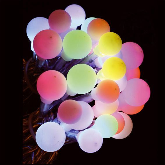Guirlande lumineuse Boules Fiesta Multicolore