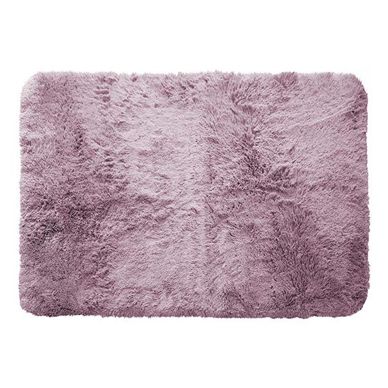 tapis rectangulaire 170 cm marmotte mauve eminza. Black Bedroom Furniture Sets. Home Design Ideas