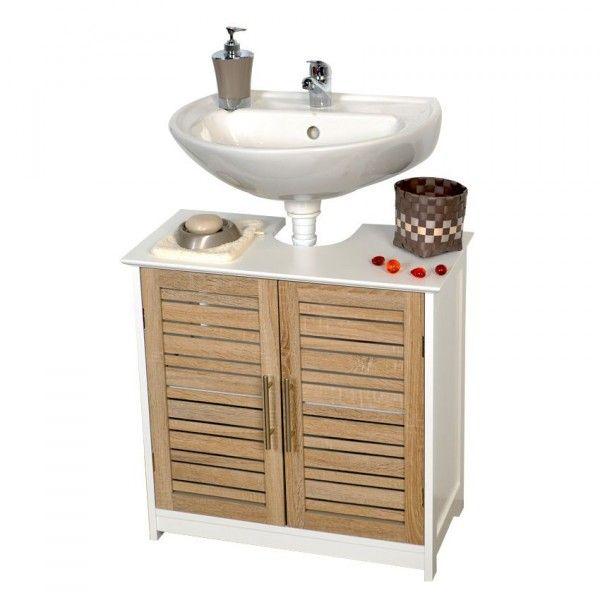 Meuble meuble colonne meuble dessous lavabo meuble bas for Meuble lavabo bois