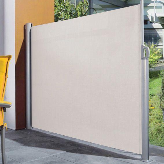 paravent r tractable kiwi sable parasol voile et. Black Bedroom Furniture Sets. Home Design Ideas