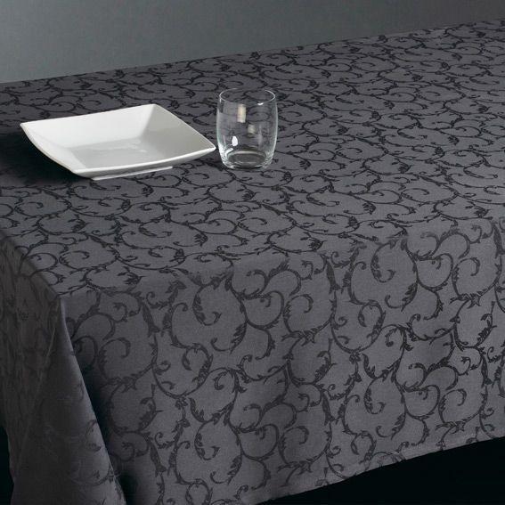 Nappe de table linge de table eminza - Nappes tissus anti taches ...