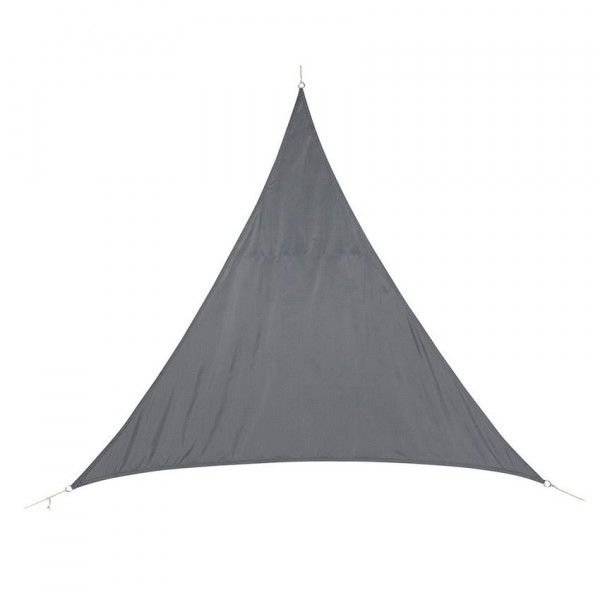 Voile d'ombrage Triangulaire (L4 m) Curacao - Gris