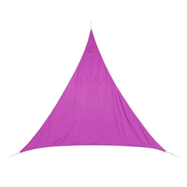 Voile d'ombrage Triangulaire (L4 m) Curacao - Violet