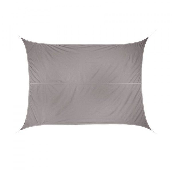 Voile d'ombrage Rectangulaire (3 x 4 m) Curacao - Taupe