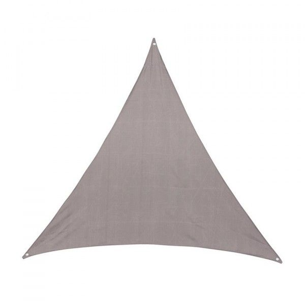 Voile d'ombrage Triangulaire (L4 m) Anori - Taupe