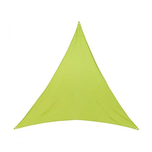 Voile d'ombrage Triangulaire (L4 m) Anori - Vert anis