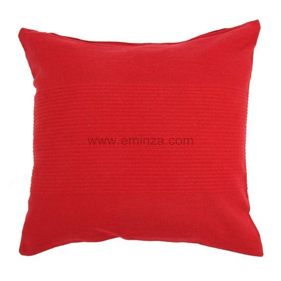 housse de coussin lana rouge coussin et housse de coussin eminza. Black Bedroom Furniture Sets. Home Design Ideas