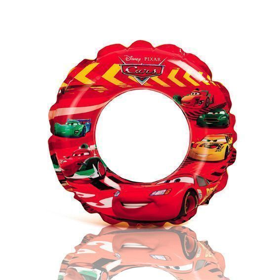 Bouée gonflable Disney Cars - Intex