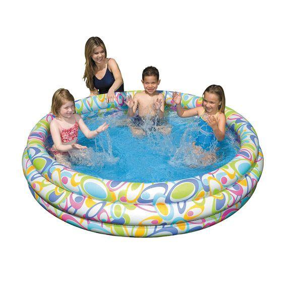 Piscine gonflable intex mangareva for Accessoire piscine fun