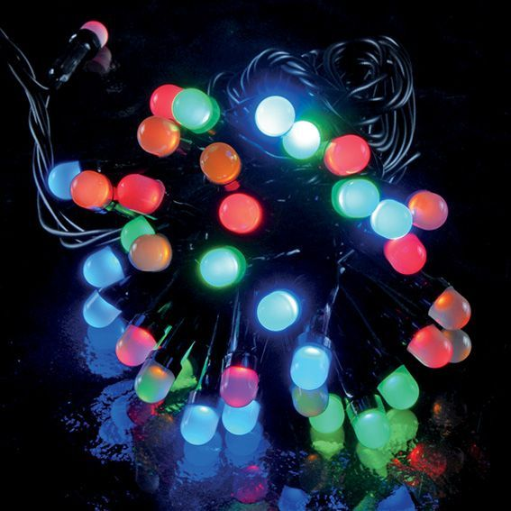 Luces de Navidad Big LED 20 m Multicolor 200 LED