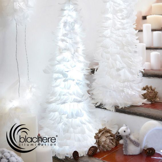 Sapin lumineux LED Plumea Blanc froid