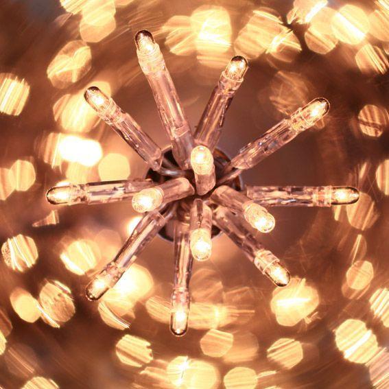 Guirlande lumineuse 80 lucioles CT 4 m Blanc chaud