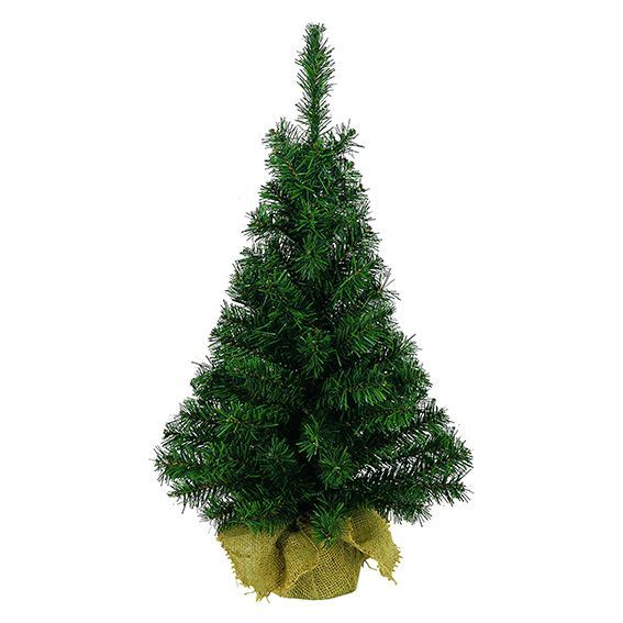 Sapin artificiel de table Domburg H75 cm Vert sapin