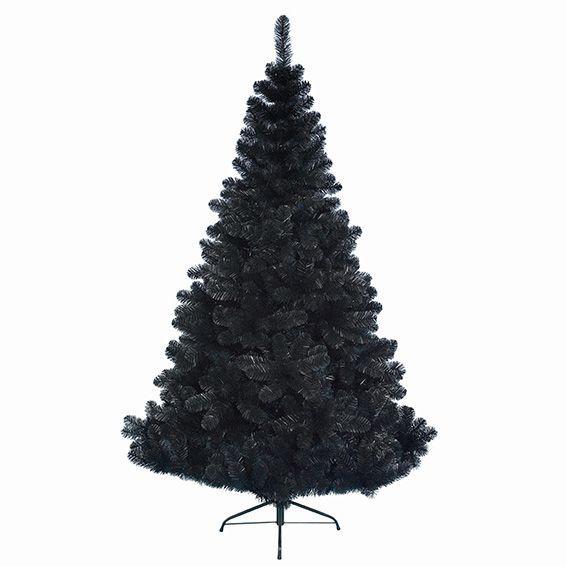 sapin artificiel de no l noir sapin arbre eminza. Black Bedroom Furniture Sets. Home Design Ideas