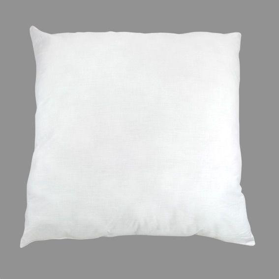 oreiller carr 65 cm anti acarien nuit polaire blanc oreiller traversin eminza. Black Bedroom Furniture Sets. Home Design Ideas